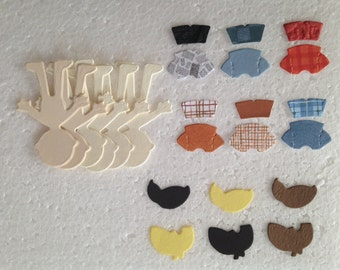 Sizzix Bitty Boy Bundle Die Cuts