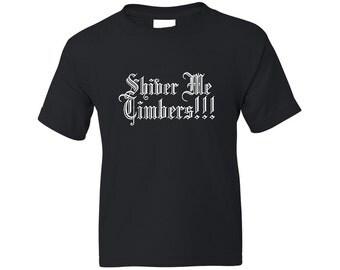 Kids Pirate Shirt - Shiver Me Timbers