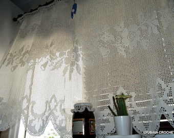 Popular items for shabby chic curtains on Etsy