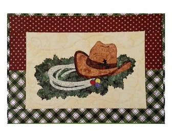 Bigfork Bay Cotton Company Christmas Roundup Applique Quilt Pattern