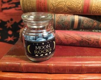 Glow in the Dark Moon Rocks inspired by Harry Potter