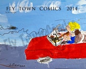 Wall Calendar 2014 from Fly Town Comics - FREE SHIPPING