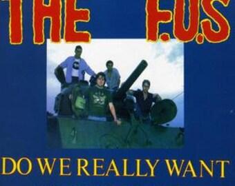 F.U.'S Do We Really  CD