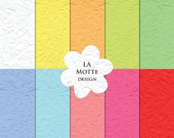 digital tissue paper textures pastel color paper crumbled digital paper color tissue papers