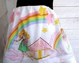 BARBIE TuTu Skirt TuTu Skirt your size from vintage fabric kawaii