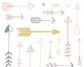 Hand Drawn Arrow Clip Art
