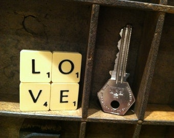 Scrabble® brooch. Made to order. Great gift for a friend who has everything.