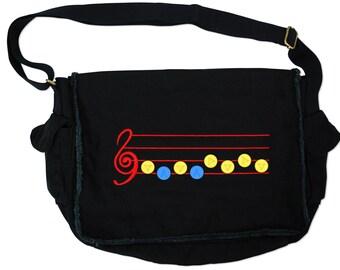 Legend of Zelda Inspired Hero Messenger Bag - Shadow Black PVC Set