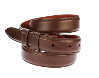 Leather Belts - Leather Belts Men - Leather Belts Woman - Brown Leather Belt Man- Brown Leather Belt Woman-  Wedding Belts - Groomsmen Gifts