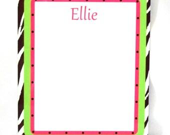 Custom dry erase board with name or monogram