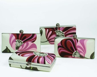 Grandiflora Bridesmaids Minaudiere - Set of 4