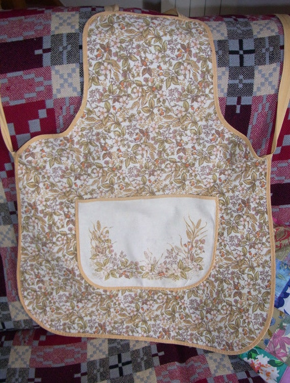 how to make a pinny apron
