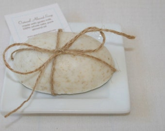 Goat Milk Oatmeal Soap - Bath and Body - Bridal Shower Soap Favor - Wedding Shower Favor - New Mom Gift - Housewarming Gift