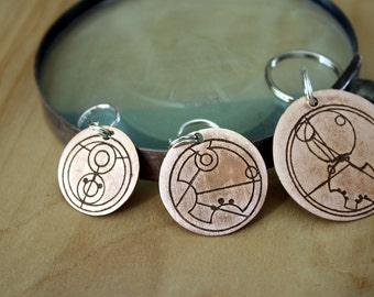 Pet Tags - Pet ID Tag - Dog Tag - Dog ID Tag - Custom Dog Tag - Personalized Dog Tag - Cat Tag - custom pet tag - Custom Gallifreyan
