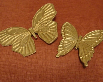 Reserved Vintage Butterfly Wall Hangings