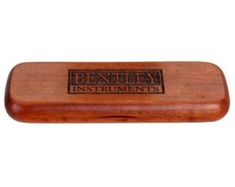 Single Pen or Pencil Wood display cases available in maple, rosewood, or bamboo.  PEN NOT included.
