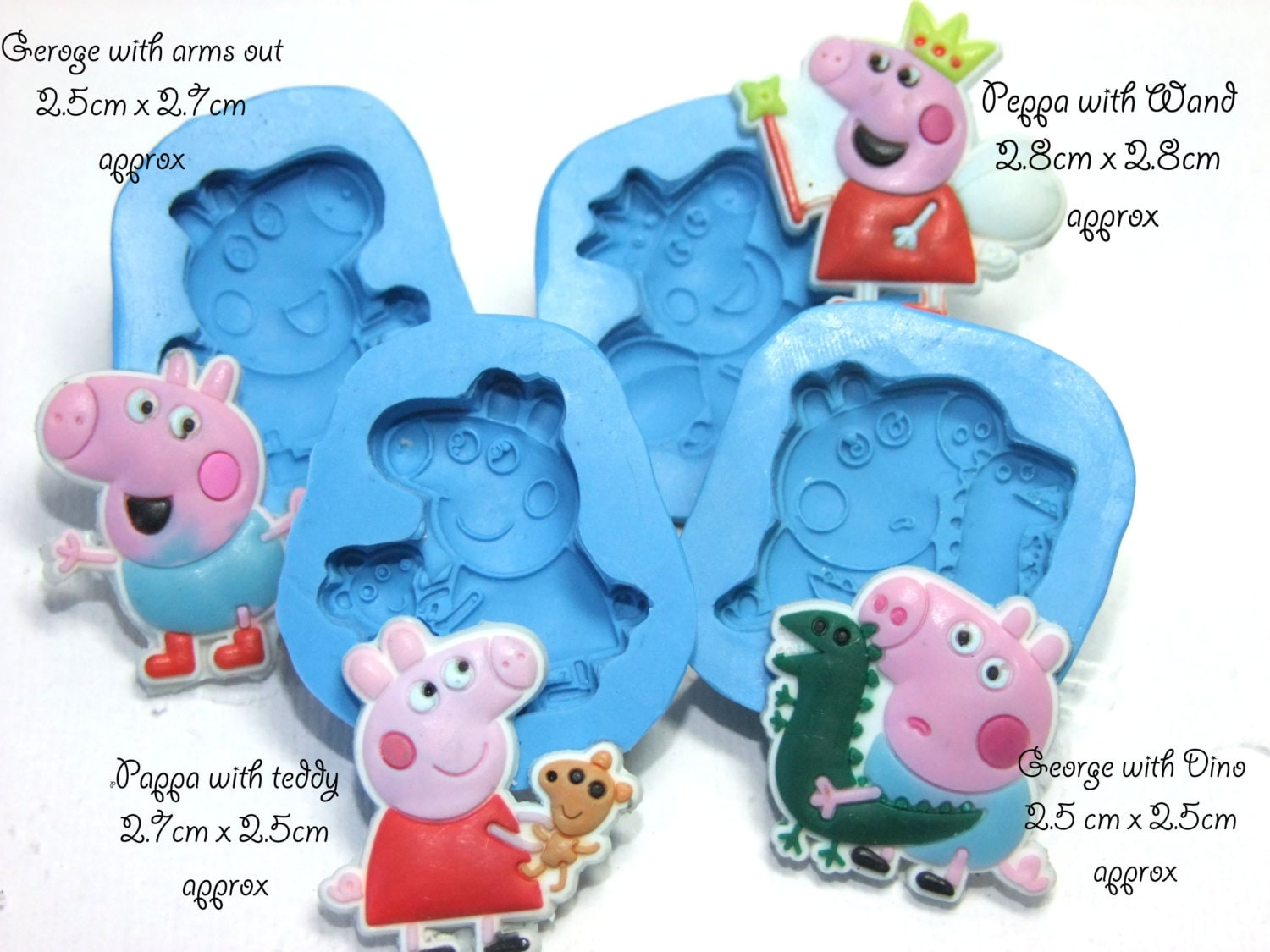 Peppa Pig Cake Pan Mold