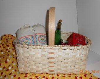 "The ""Nancy"" hand woven market basket"
