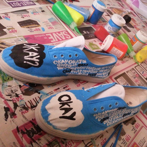 The Fault In Our Stars Inspired Sneakers