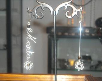PREZZO RIBASSATO Orecchini c/NOME Orecchini Personalizzati Orecchini Hand Made Personalizzati c/Nome Dono Originale Lovely Earrings Birthday