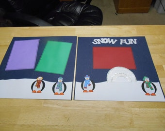 Snow Day Page Set