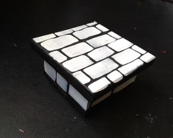 White Brick Box