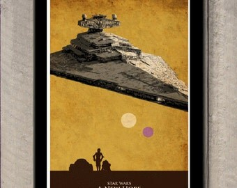 Star Wars Trilogy Poster - A New Hope