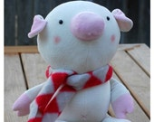 Pip the Pig - PDF Sewing Pattern With Step-by-Step Photos and Easy Instructions