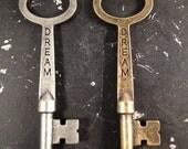 Dream Key Word Industrial Vintage Style Jewelry Findings
