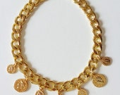 Jackpot Coin Necklace