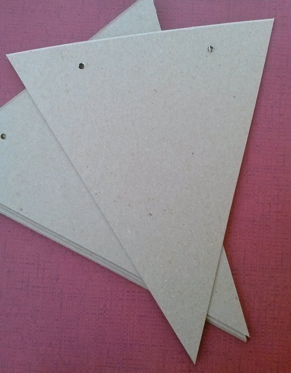 Large Banner supply, bunting, pennant, garland supply, set of 5