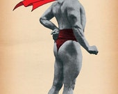 SALE! Secret Identity Super Hero - Magnet - Humor - Gift - Stocking Stuffer - Cape - Funny