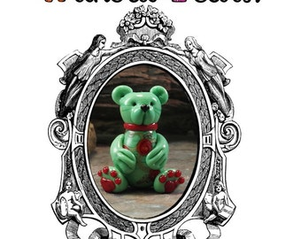 Teddy Bears Without Tears Lampwork Sculpture Bead Tutorial Instant Download