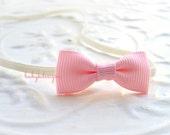 SAVE 15% Baby Headbands Newborn Headband.Baby Girl HAIRBOW Headband.Baby SADIE Bow Headbands /  Newbrn Bow Headband Pink Yellow Red Hot Pink