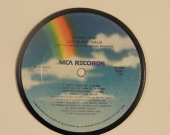 ELTON JOHN Record Album Coaster