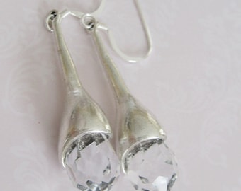 Bridal Jewelry Bridal Accessories Wedding Jewelry Bridesmaids Earrings Crystals Bridal Earrings