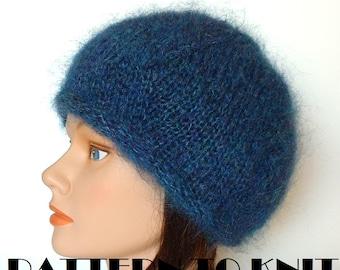 Free Knitting Pattern Mohair Beret : FREE KNITTING PATTERN MOHAIR BERET - VERY SIMPLE FREE KNITTING PATTERNS