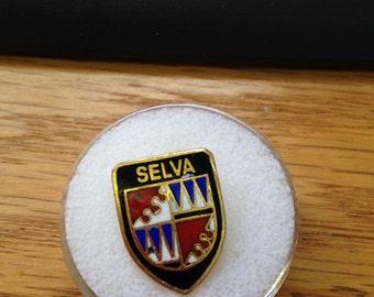 Vintage Italian Alps Selva Hat or Lapel Pin