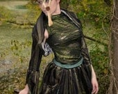 """N.H.I. designer steampunk bustle outfit """"THE EMPRESS"""" spring 2013 collection"""