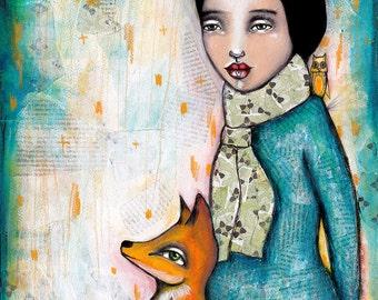 Foxy - Art Print