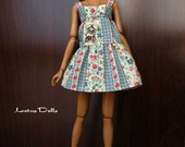 Springtime - Handmade dress and jewelry for Momoko dolls