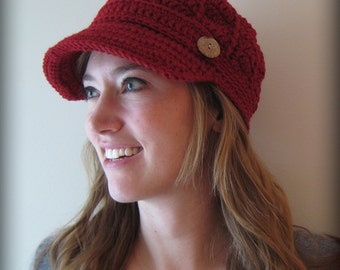 Nifty Newsboy Cap- CHOOSE YOUR COLOR