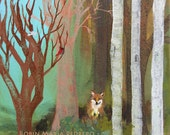 Fox in the Forest  fine art print