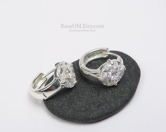beautiful 925 sterling silver quality earrings