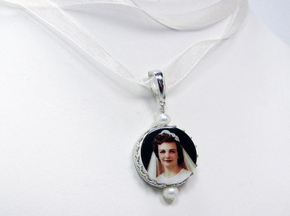 Princess Framed Small Photo Memorial - FBC15P