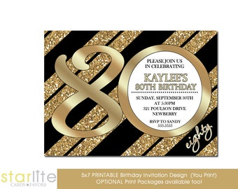 th birthday invitations  etsy, Birthday invitations