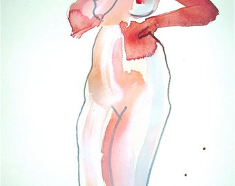 One minute pose 70.1  by Gretchen Kelly