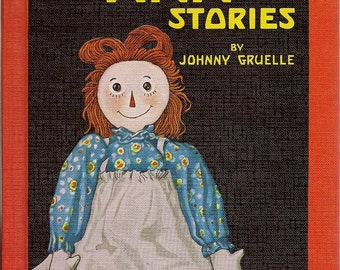 Raggedy Ann Stories and Raggedy Andy Stories (2 books) by Johnny Gruelle HARD COVER