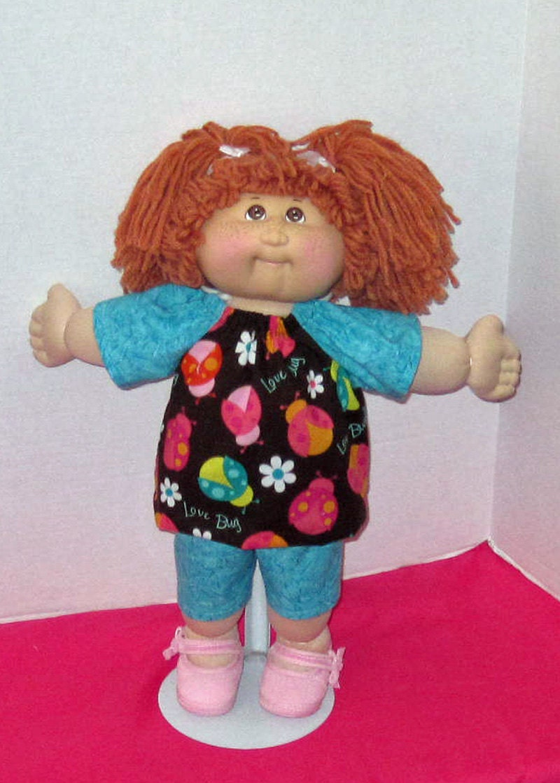 cabbage patch doll clothes 16 inch doll bug set