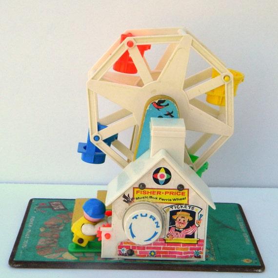 Vintage Fisher Price Little People Ferris Wheel 969